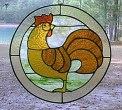 Round Rooster Panel