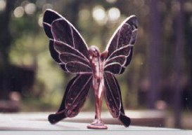 Copper and brass fairy
